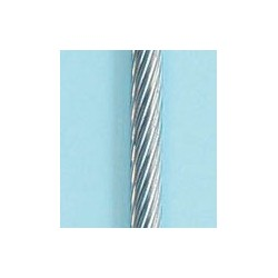 Cable inox raide        (le m)