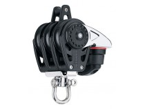 Poulie triple/winch/taquet 56 MM  HARKEN
